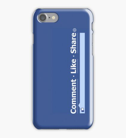 LIKE Share Comment iPhone Case/Skin