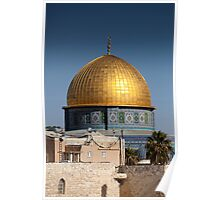Dome of the Rock Poster