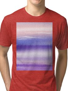 Pearly Sky Abstract I Tri-blend T-Shirt