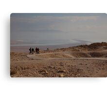 The Dead Sea from Masada fortress Canvas Print