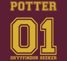 POTTER GRYFFINDOR SEEKER by bomdesignz