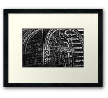 Harbourside Framed Print