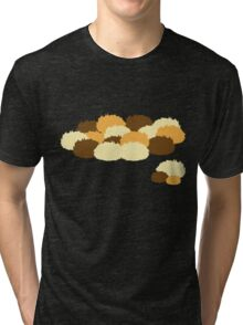 A pile of Tribbles Tri-blend T-Shirt