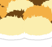 A pile of Tribbles Sticker