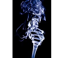 Olympic Torch in Smoke Photographic Print