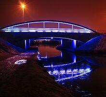 Blue Bridge in Falkirk by busterbrownbb