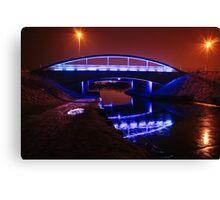 Blue Bridge in Falkirk Canvas Print