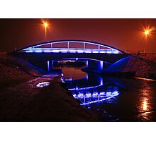 Blue Bridge in Falkirk Photographic Print