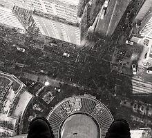Glass Floor at the Calgary Tower by Ryan Davison Crisp