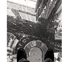Glass Floor at the Calgary Tower Photographic Print