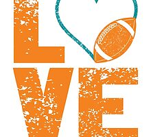 Love <3 Miami Football. by aestheticarts