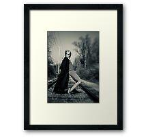 ''She Moves'' Framed Print