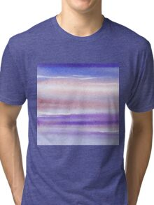 Pearly Sky Abstract III Tri-blend T-Shirt