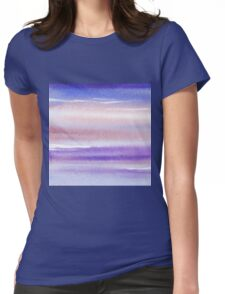 Pearly Sky Abstract III Womens Fitted T-Shirt