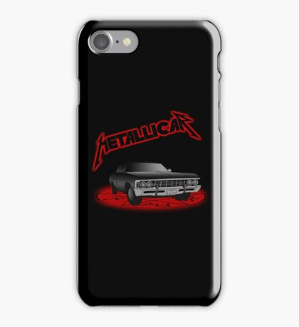 Supernatural - Metallicar iPhone Case/Skin