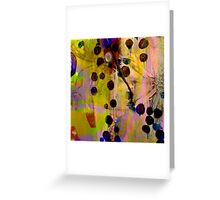 Berry Blossoms Greeting Card