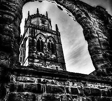 All Saints Clock Tower. by Nigel Butterfield