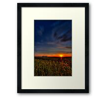 Sunrise Ferrybridge 17-06-2011  Framed Print
