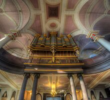 Derby Cathedral Pipes - Vertorama by Yhun Suarez