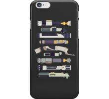 Sabers - Star Wars Inspired Minimalist Infographic iPhone Case/Skin