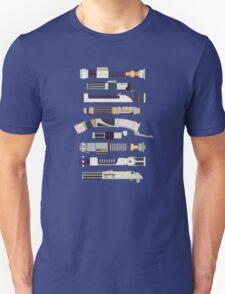 Sabers - Star Wars Inspired Minimalist Infographic T-Shirt