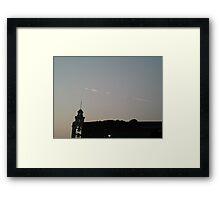 The Sun Raise Framed Print