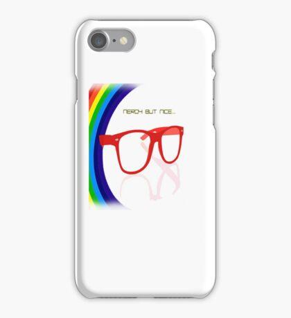 Nerdy but Nice iPhone Case/Skin