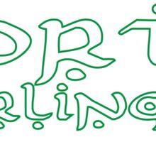 LotR Rohan battlecry Forth Eorlingas! Sticker