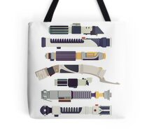 Sabers - Star Wars Inspired Minimalist Infographic Tote Bag
