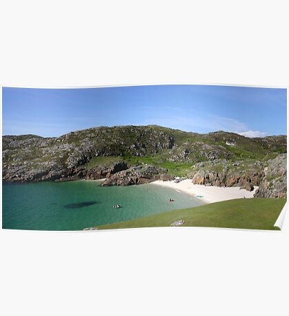 Glorious Achmelvich, Assynt Poster