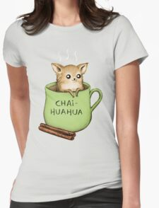 Chaihuahua Womens Fitted T-Shirt