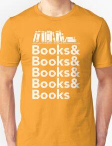 Books   Literary Book Nerd Helvetica Typography T-Shirt