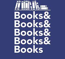 Books | Literary Book Nerd Helvetica Typography T-Shirt