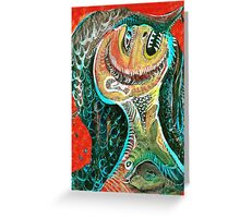 The Big Tooth Ache Greeting Card