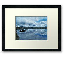 Lough Eske Reflection Framed Print