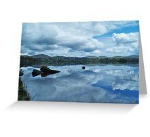 Lough Eske Reflection Greeting Card