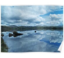 Lough Eske Reflection Poster