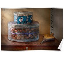 Furniture - Hat boxes with billow Poster