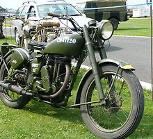 Matchless Motorcycle  by Woodie