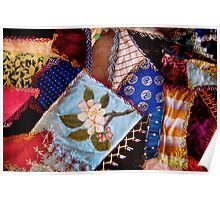 Sewing - Patchwork - Grandma's quilt  Poster