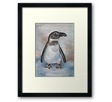Chilly Little Penguin Framed Print