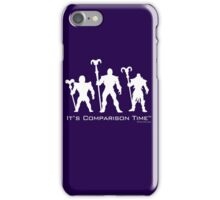 """It's Comparison Time"" - Skullface iPhone Case/Skin"