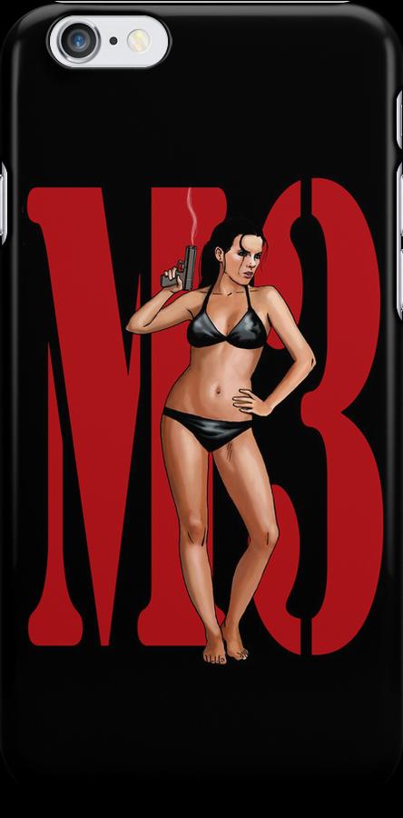M3 Bikini - Black by Machiavella3