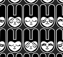 Load of Bunnies by blacklilypie