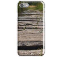 Wooden path - iPhone case iPhone Case/Skin