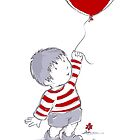 Love balloon by Wendy Howarth