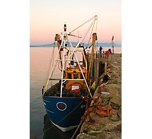 Fishing over for the day Photographic Print