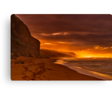 """""""Gibson's Golden Dawning"""" Canvas Print"""