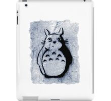 Street Art Stencil - Totoro iPad Case/Skin