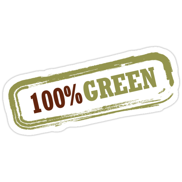 100% Green by Lisa Marie Robinson